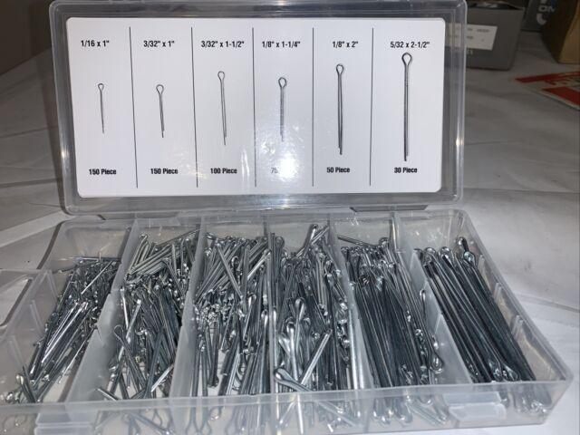 Storehouse 67558 Cotter Pin Assortment Set W Organizer 555 PC 6 Sizes Automotive for sale online