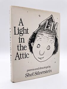 """A Light in the Attic - Stated """"FIRST EDITION"""" - 1st Printing - SILVERSTEIN 1981"""