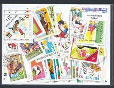 100 verschiedene Briefmarken Fußball , Fussball , soccer, fotball