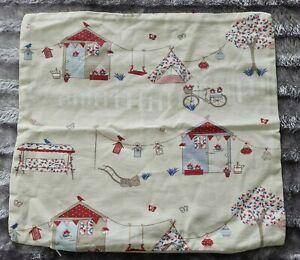 Dunelm-100-garden-pattern-cushion-Cover