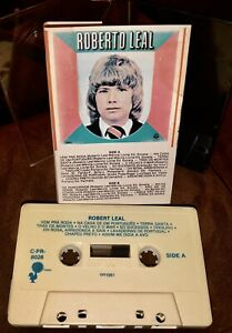 ROBERTO LEAL CASSETTE TAPE S/T C-PR-8026 FROM 1981 ONLY ONE ON EBAY SUPER RARE!!