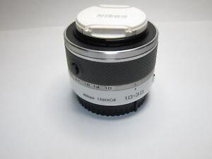 Weiss-Nikon-1-Nikkor-10-30mm-f-3-5-5-6-VR-Zoom-Lens-Unit-fuer-J1-J2-J3-J4-V1-V2