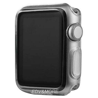 Apple Watch Series 2 42 mm TPU GEL Hülle Case Silikon ultradünn transparent klar