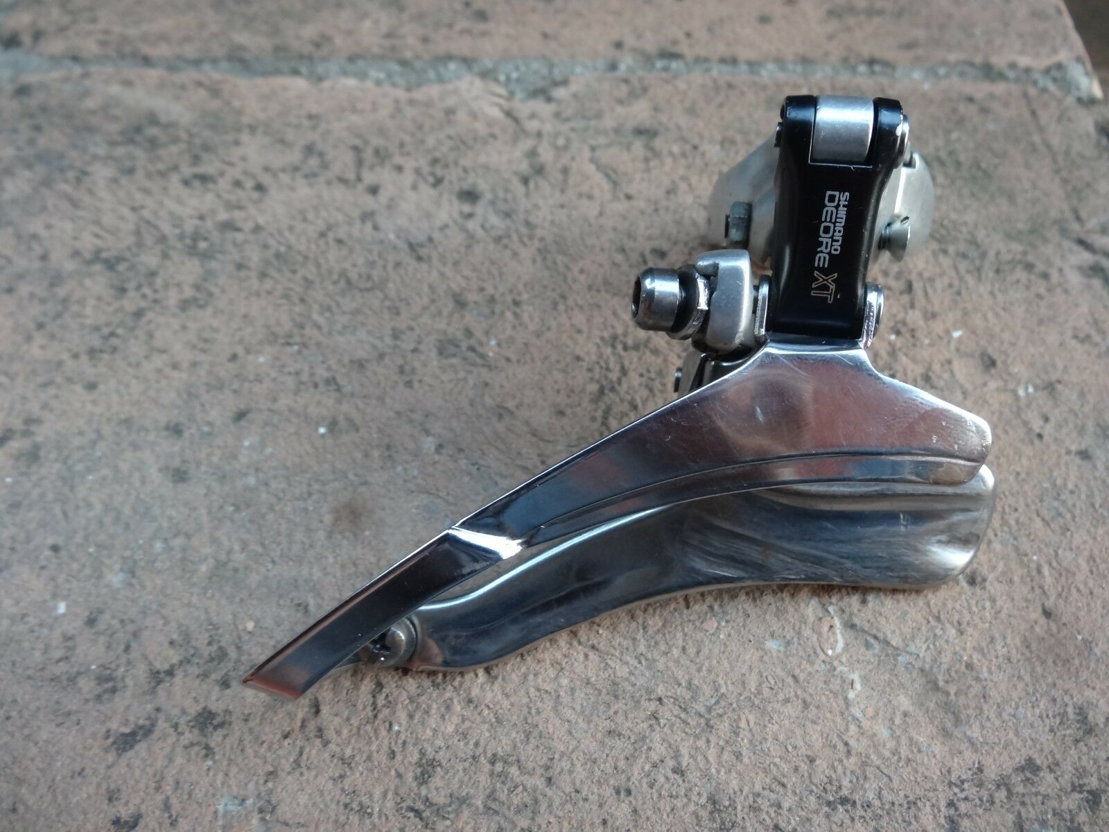 Shimano XT FD-M736 front  derailleur triple 1991 top.clamp 34,9mm  lightning delivery