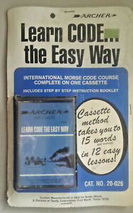 learn-code-the-easy-way-international-morce-code-coure-coplete-on-one-cassette