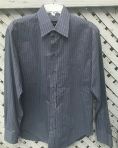 Giorgio-Armani-Button-Front-Shirt-Men-039-s-Medium-or-Large-Cotton-Made-in-Italy