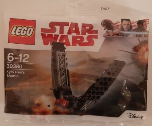 free post Lego Star Wars Kylo Ren/'s Shuttle polybag 30380