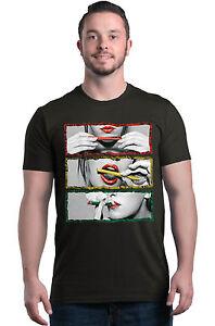 Blunt Roll Rasta Border Crewneck Marijuana Weed Stoner Bob Marley Sweatshirts