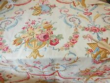 Vintage Pierre Frey Floral Fabric Sample, 90 x 110cm