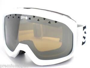 172efcddb614 SPY OPTIC - TREVOR Ski Snow Goggles White   Bronze with Silver ...
