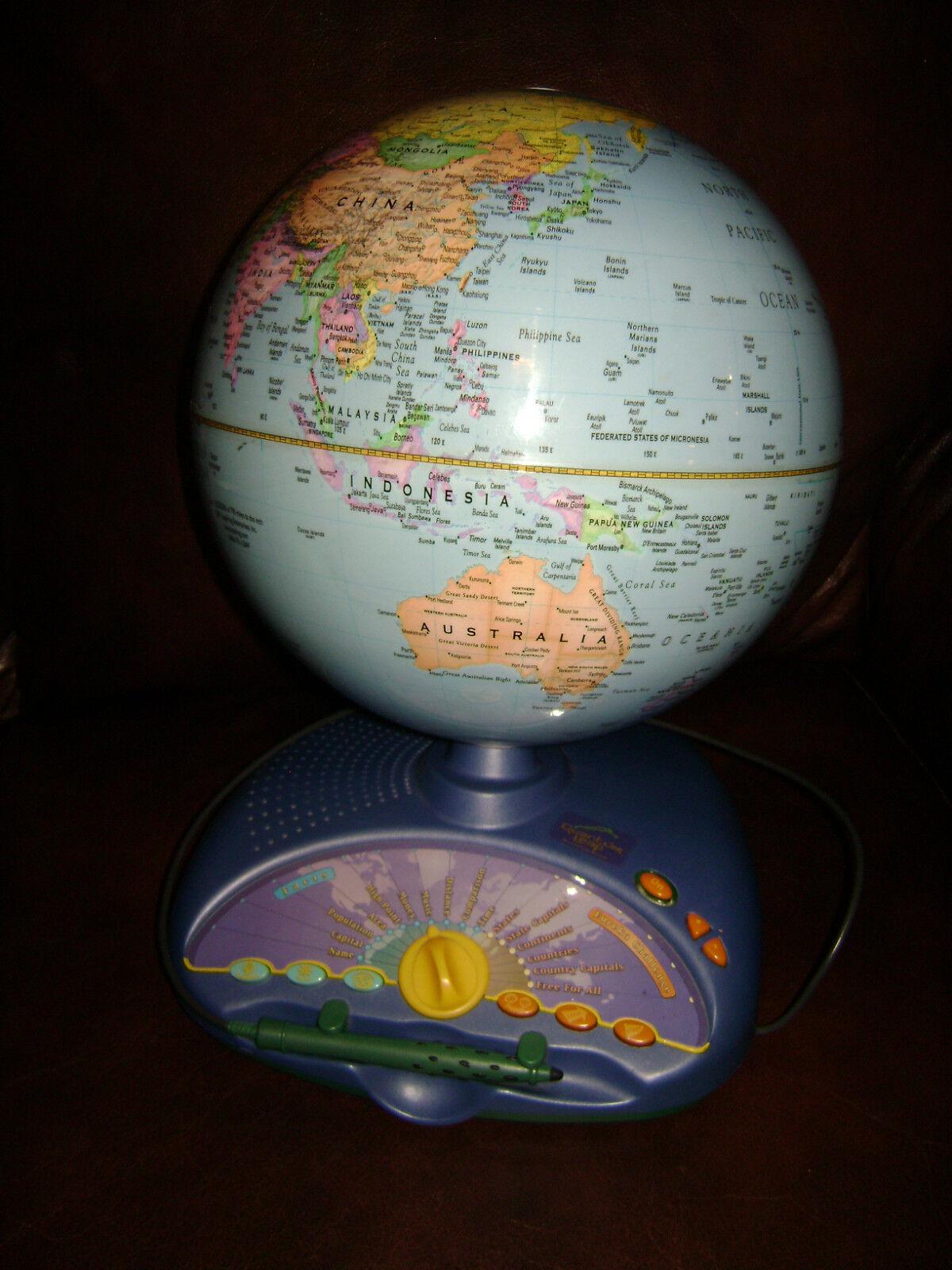 Leap Frog Interactivo hablando Smart Globo Explorer Eureka desafío