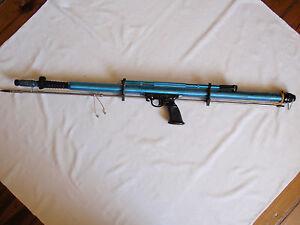 Vintage-Diving-Spear-Gun-Spain-EQUIPO-NEMROD-Diver-Scuba-amp-Snorkeling-Dive-Metal