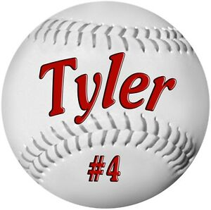2-4-034-Baseball-Decals-Stickers-Personalize-Text-Gifts-Girls-Boys-Teams-Sports