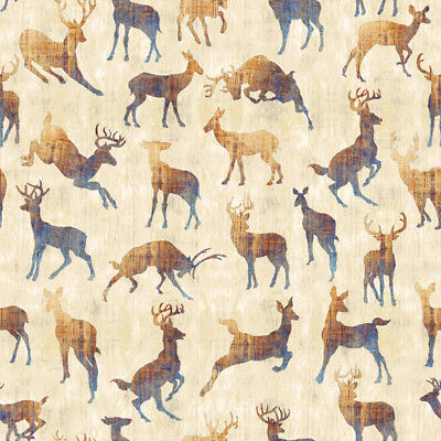 by the 1//2 yard FABRIC QT ~ MOOSE TRAIL LODGE ~ Audrey Jean Roberts 26682 K