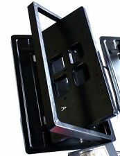 Electric License plate frame FLIPPER turn off  American USA type 1PC in Set NEW!