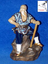 Chinese Mudman Figurine 'Axe Man' Oriental Ornament Statue Model no. 193