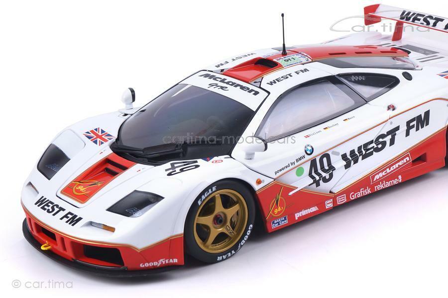 McLaren F1 GTR - 24h Le Mans 1995 1995 1995 - Nielsen   Mass   Bscherr - Minichamps - 1 18 020489
