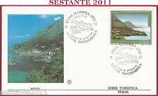ITALIA FDC FILAGRANO SERIE TURISTICA MARATEA PZ 1992 ANNULLO S67