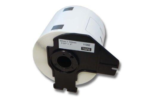 ENDLOS ETIKETTEN 62mm x 30.48m STANDARD für BROTHER P-touch QL-560
