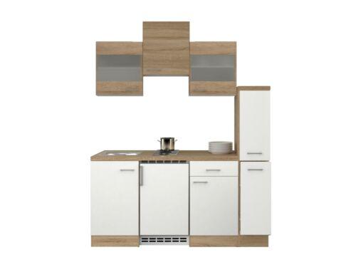 Miniküche Mit Kühlschrank 180 Cm : SinglekÜche mit kÜhlschrank miniküche spüle doppel kochplatte