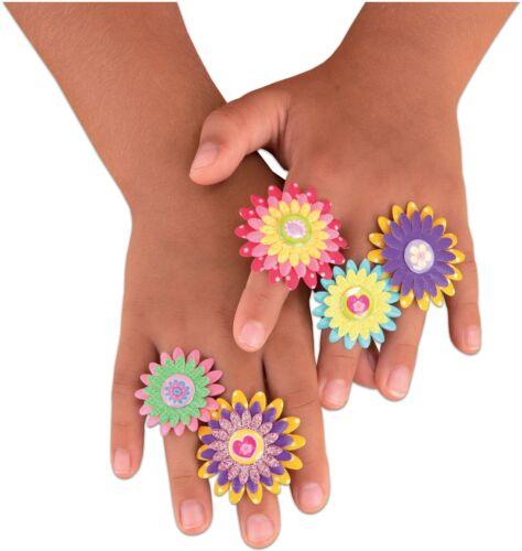 Galt Fiore Anelli bambini attività artigianale giocattolo BN