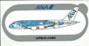 EXCLU-A380-ANA-All-Nippon-Airways-Turtle-NOUVEAU-STICKER-AIRBUS