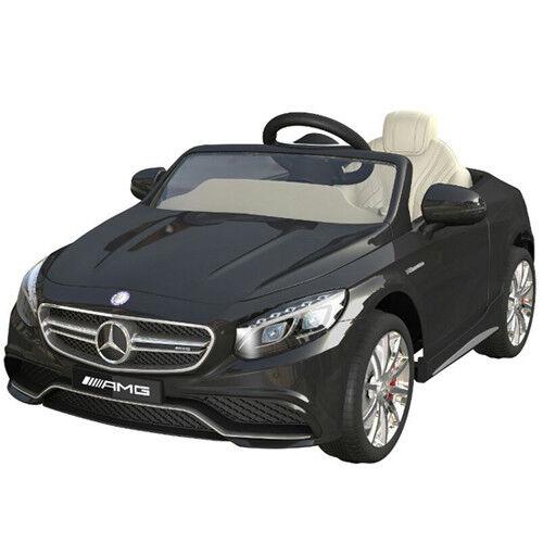 Mercedes-benz Amg S63 AUTO BAMBINO vettura per elettrica 2x MT 12V SW