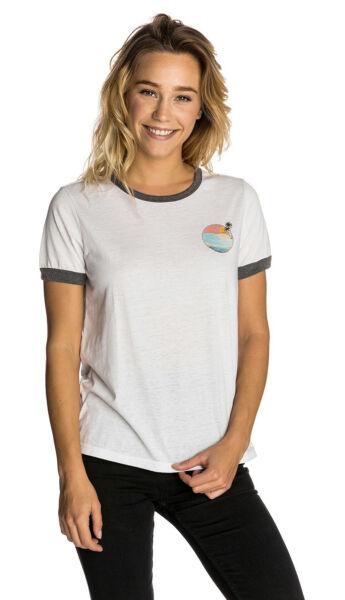 Gelernt Rip Curl Backside T-shirt Für Damen, Weiß - Größe Xl Günstig Kaufen   Spezieller Sommer Sale
