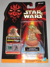 Hasbro Star Wars Episode I Yoda with Jedi Council Chair Action Figure