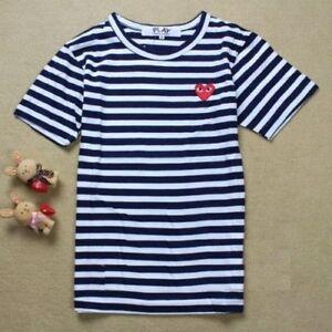 cdg play men's shirt