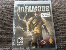 SONY PS3 INFAMOUS GAME BRAND NEW UK PAL SEALED