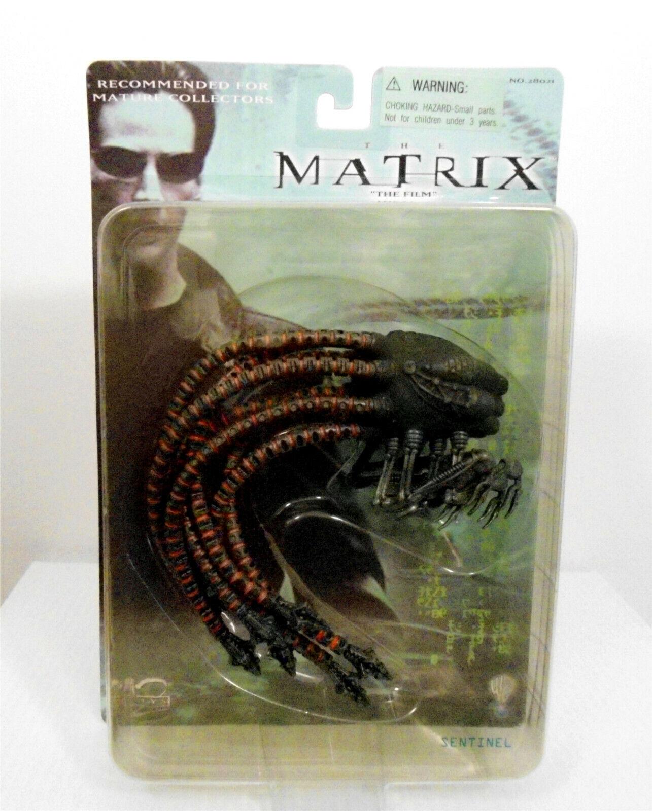 The Matrix The Movie Sentinel azione cifra N2 giocattoli 2000 Reeves Fishburne