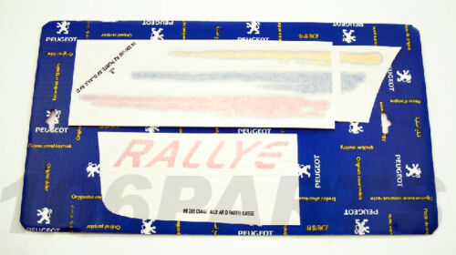 Peugeot 106 1.6 Rallye 96-98 Side Decal Sticker R//H New Genuine Peugeot 866517