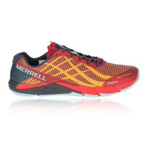 size 40 2ff37 74aa6 Details about Merrell Mens Bare Access Flex Shield Trail Running Shoes  Trainers Sneakers Red