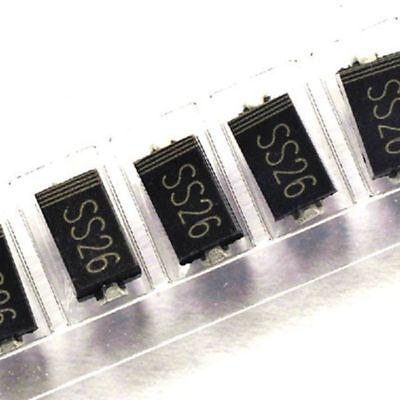 50PCS SS24 SK24 2A//40V SMB DO-214AA SMD Schottky Diodes