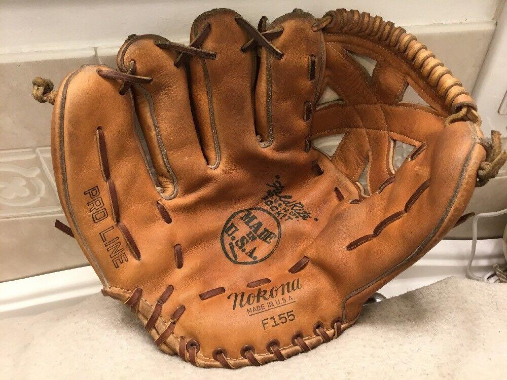 Nokona Pro-Line F155 11.5  béisbol Softbol Guantes Left Hand Throw