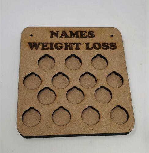 Personnalisé de perte de poids Récompense Plaque LB pour livre différentes tailles disponibles