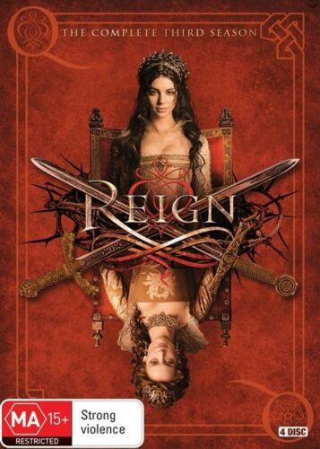 1 of 1 - Reign : Season 3 (DVD, 2016, 4-Disc Set)