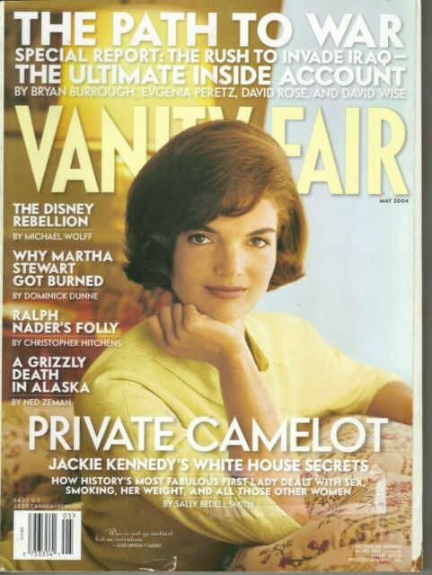 Vanity Fair Magazine Jackie Kennedy The Bush Cabinet ...