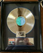 HALL & OATS-OHH YEA-ARISTA-1988-ONE OF A KIND-FRAMED-RARE-REAL DEAL-PLATINUM-LP