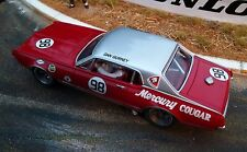 Probuild desde 1/32 Kit de ranura GTM Mercury Cougar Dan Gurney c1967 #98 M/b RTR