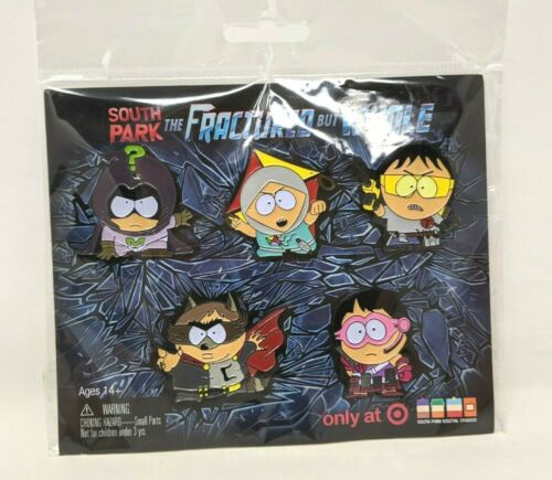 New South Park Fractured But Whole Limited Edition Target 5 Enamel Pin Set FP20