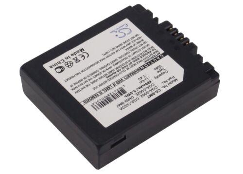 Premium Battery for Panasonic Lumix DMC-FZ5PP Lumix DMC-FZ1A-S Lumix DMC-FZ1A