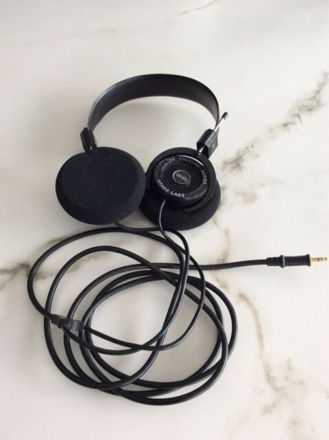 981e35317cd Grado Prestige SR80 Headband Headphones - Black for sale online | eBay