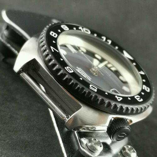 Matte Black finish Rotating Bezel SRP Turtle Re-issue Sub Style