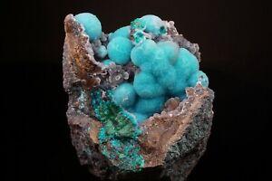 AESTHETIC-Chrysocolla-Botryoids-w-Quartz-Crystals-INCA-DE-ORO-CHILE-Ex-Lemanski