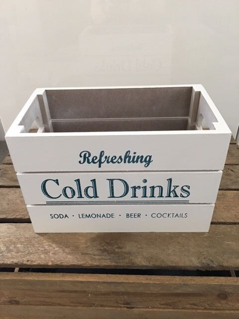 Blue Cold Drinks Small