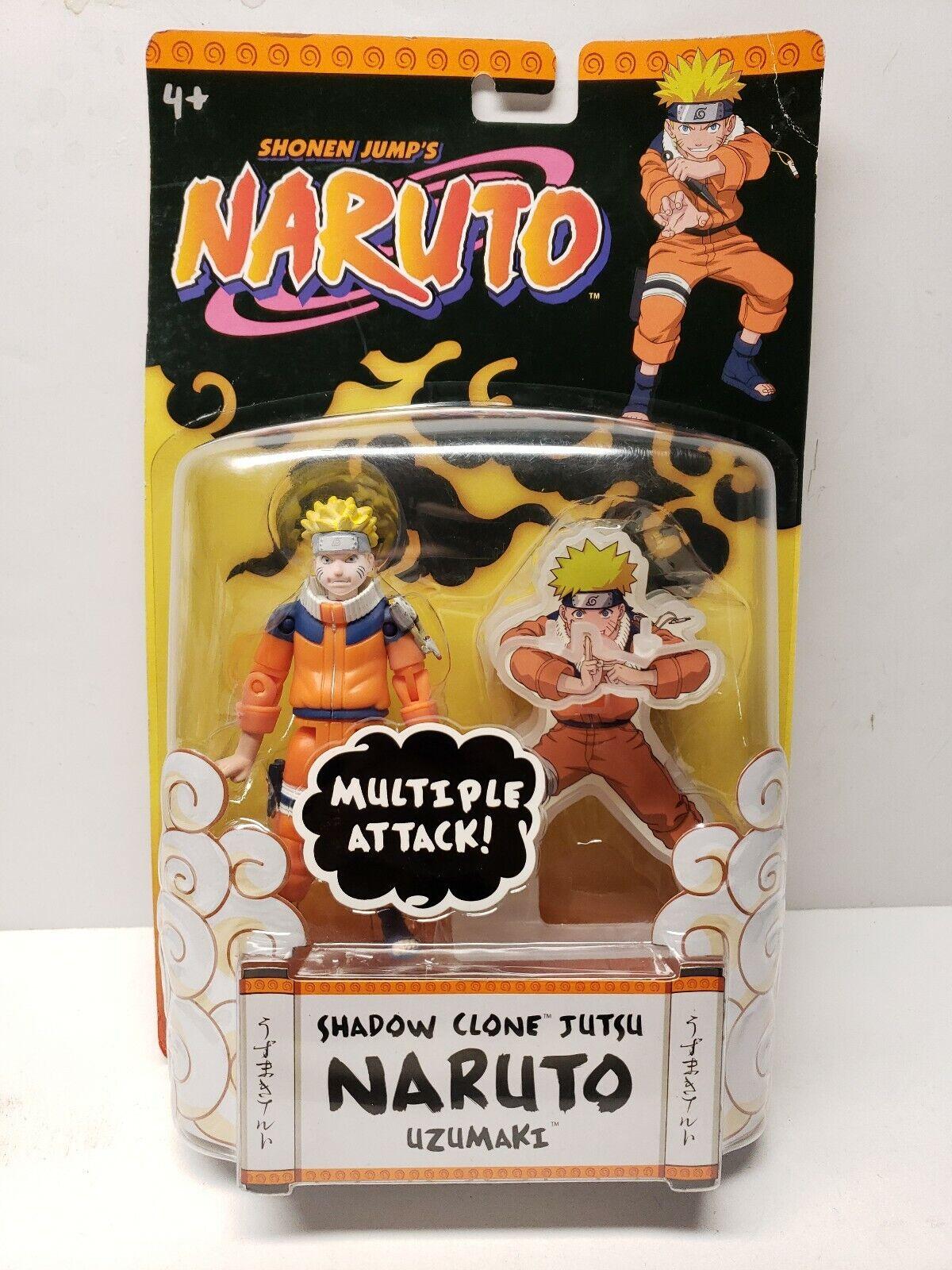 Naruto Naruto Naruto Shadow Clone Jutsu Uzumaki Action Figure New & Unopened dde329