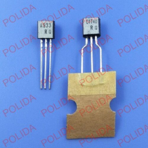 5pairs OR 10PCS Transistor ROHM TO-92 2SA933//2SC1740 A933//C1740