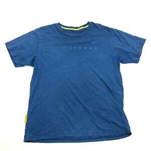 Vintage-Nike-Livestrong-Chemise-Taille-L-Naturellement-Delave-Live-Fort-T-Shirt